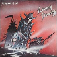 LIVING DEATH - Vengeance Of Hell [GREY/RED Vinyl] (LP)